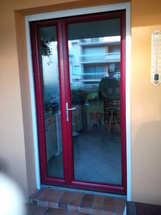 Porte fenêtre 2 vantaux tiercé