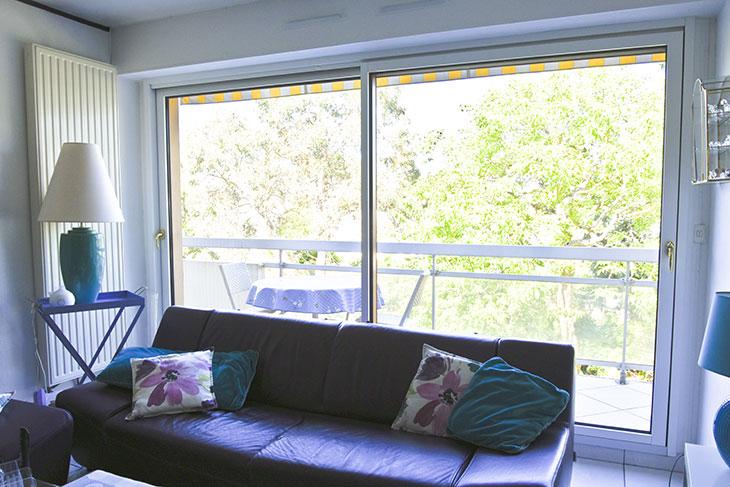 Vue intérieure bois finition blanche 2 couches